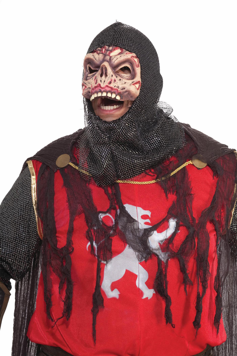 scary zombie knight crusader costume adult standard