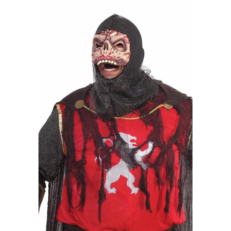 Scary Zombie Knight Crusader Costume Adult - Scary Zombies Costumes