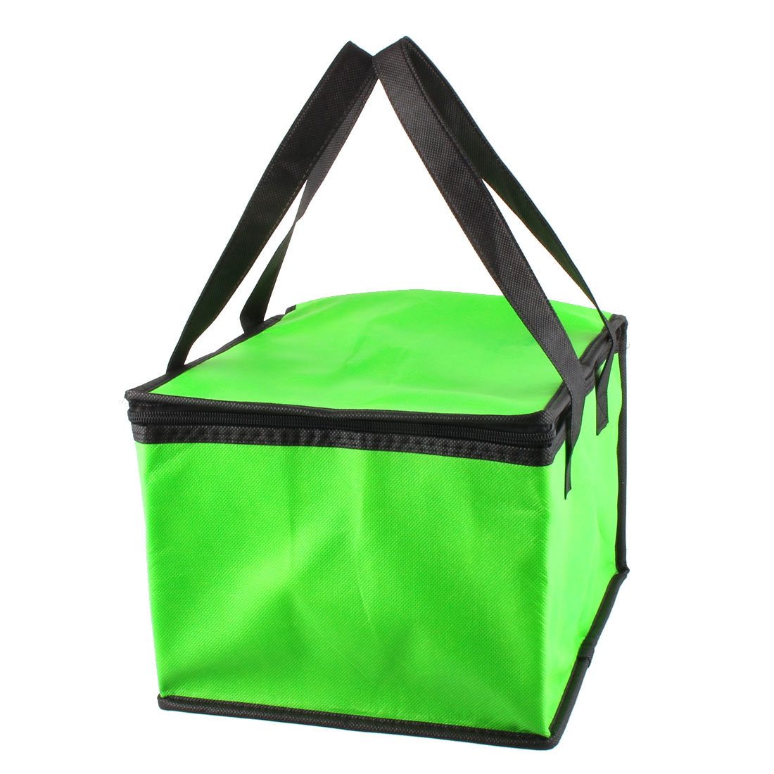 "Non-Woven Fabric 10"" Length Insulated Thermal Lunch Cooler Tote Bag"