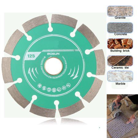 1Pcs 5'' Diamond Circular Saw Blade Cutting Disc Wheel 125mm Concrete Marble (Best Inline Wheels For Concrete)