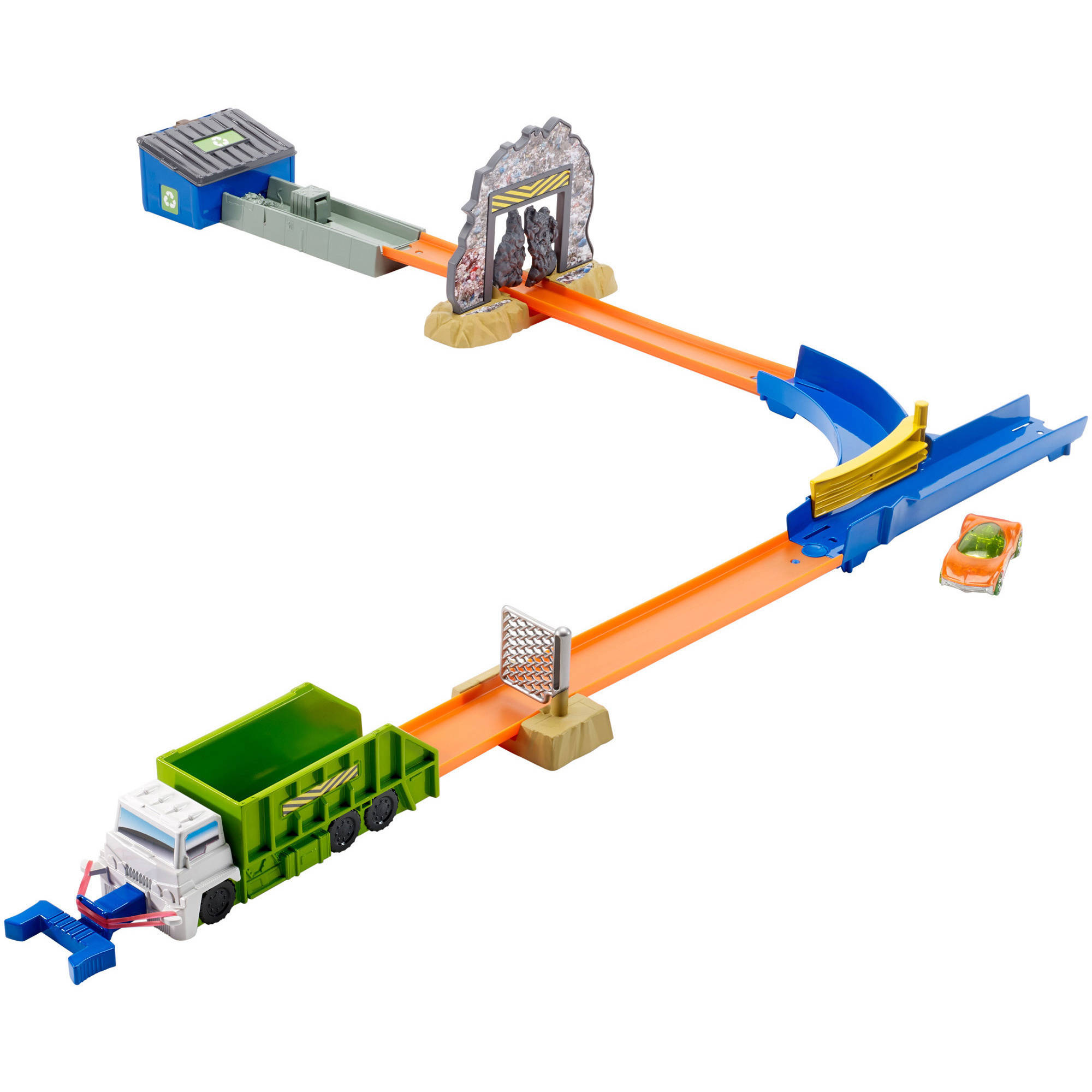 Hot Wheels Trash Basher Trackset