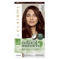 Clairol Natural Instincts Hair Color, 4R Dark Auburn
