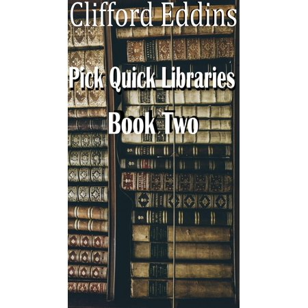 Pick Quick Libraries Book 2 Ebook Walmartcom - Can-pick-the-book-quick