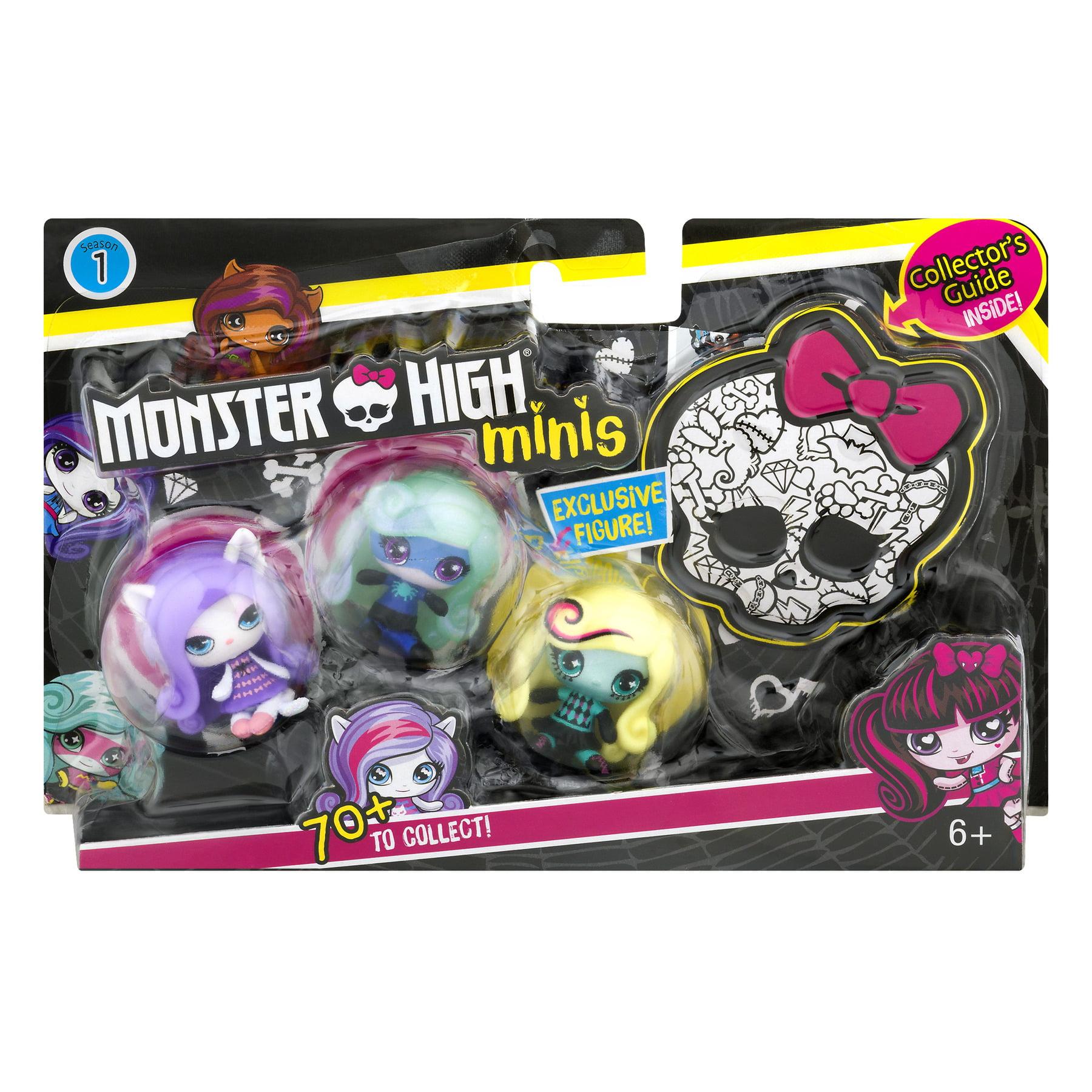 Monster High Minis Figure (3-Pack) by Mattel
