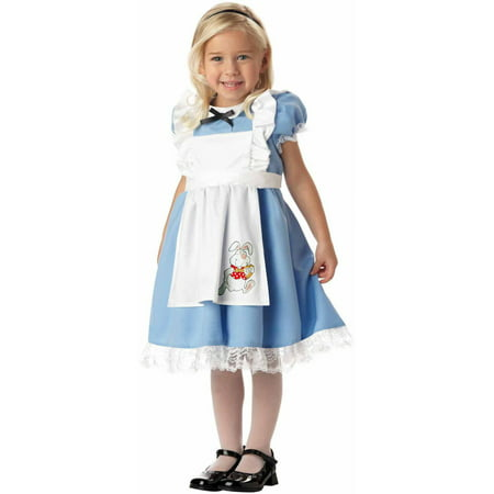 Lil' Alice Girls' Toddler Halloween Costume (Dark Alice Costume Plus Size)