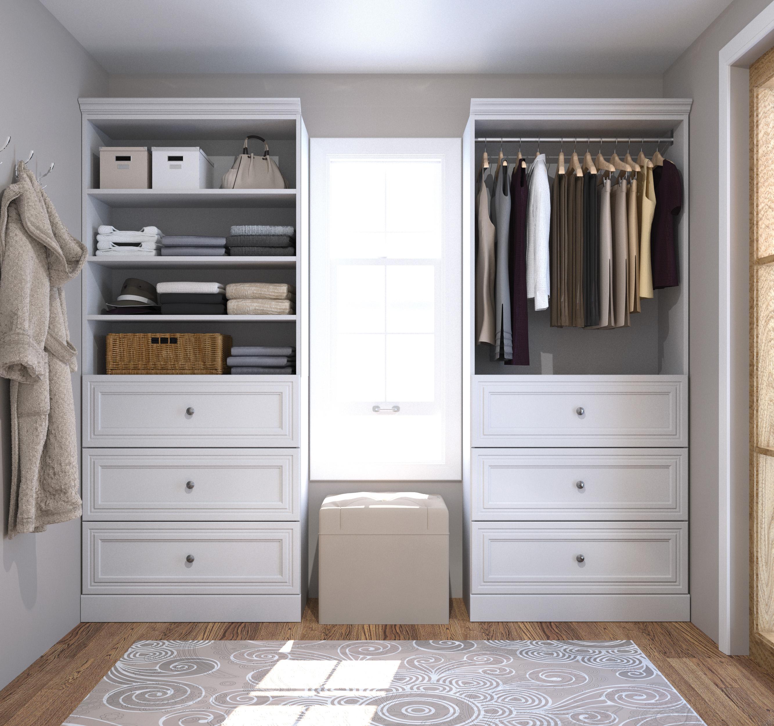Versatile by Bestar 72'' Storage kit in White