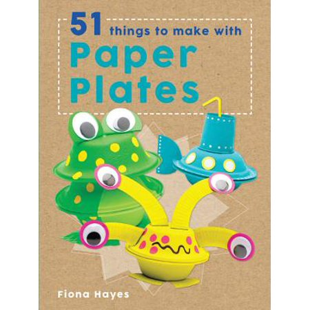 51 Things to Make with Paper Plates (Cool Things To Make With Construction Paper)