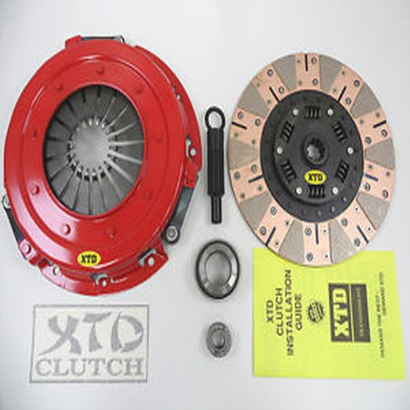 XTD STAGE 3 DUAL FRICTION CLUTCH KIT MUSTANG 4.6L GT COBRA 11