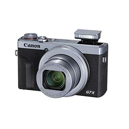 Canon PowerShot Digital Camera [G7 X Mark III] International Model - Silver