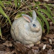 Evergreen Flag & Garden Portly Rabbit Statue