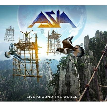 Live Around The World (CD) (Digi-Pak) (Asia Live Cd)