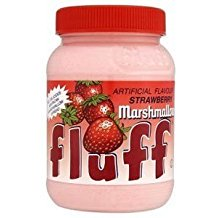 Fluff Artificial Flavor Strawberry Marshmallow Gluten Free 7.5 Oz.Pk Of 3.