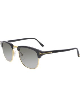 885d76ea8c1 Product Image Men s Henry FT0248-05N-51 Black Semi-Rimless Sunglasses