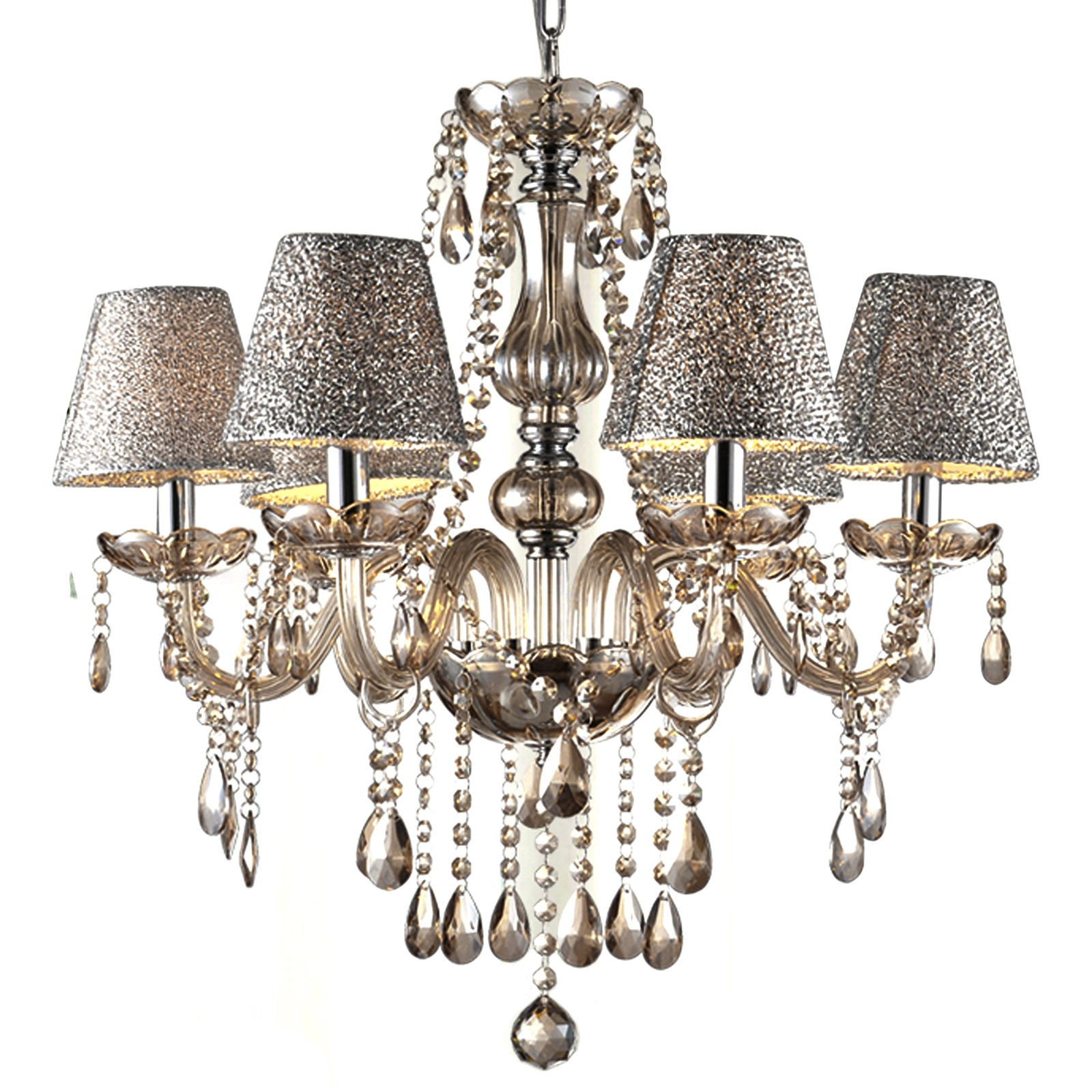 Crystal Chandelier Lamp Ceiling Chain Lamp 6 Lights Chandelier WSY by