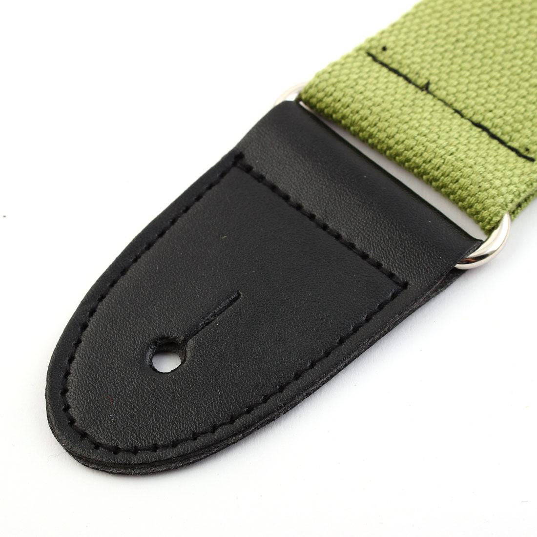 Nylon Bass Belt Adjustable Electric Guitar Strap 80-140cm Length Green - image 1 de 6