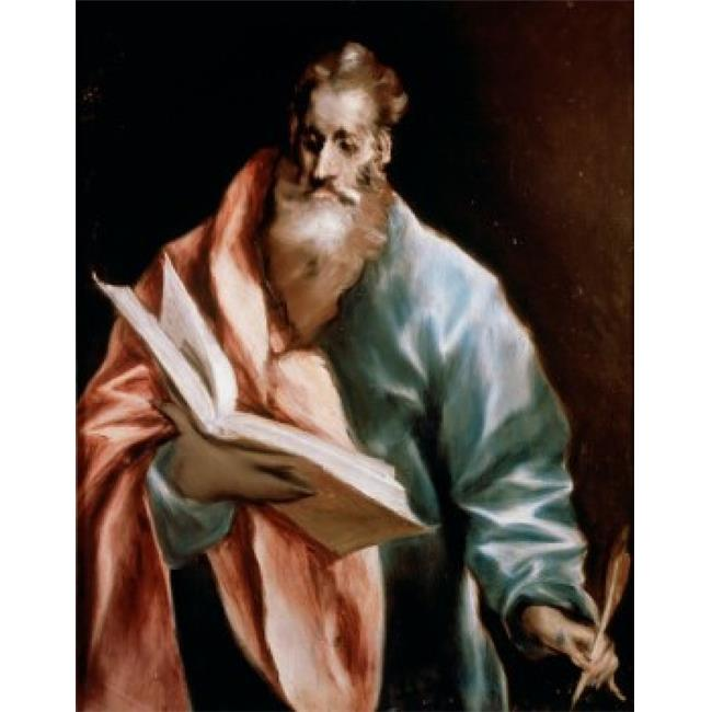 Posterazzi SAL9006319 Saint Matthew El Greco 1541-1614 Greek Poster Print - 18 x 24 in. - image 1 de 1