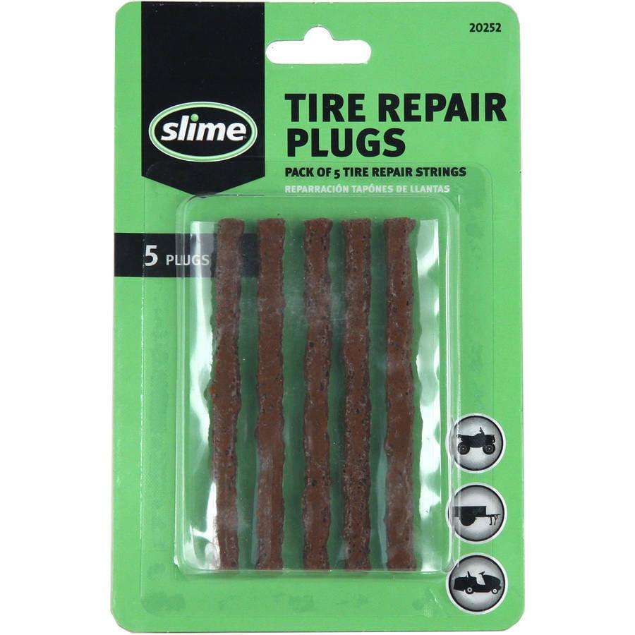 Slime Tire Repair Plugs 6-Pack Brown - 20252
