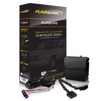 FlashLogic FLRSCH5 Standalone Remote Start  Module With T Harness for Chrysler