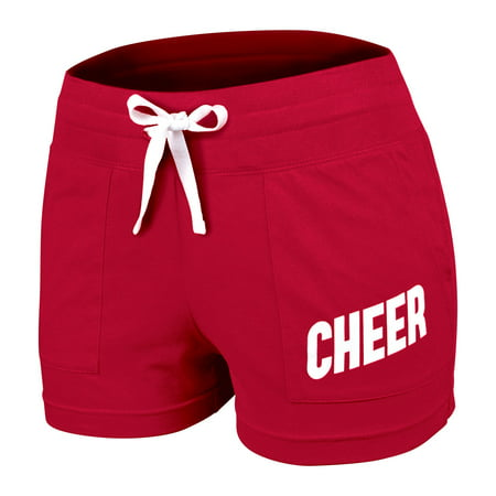 (Chassé Classic 100% Cotton Cheerleading Practice Short with Drawstring -)