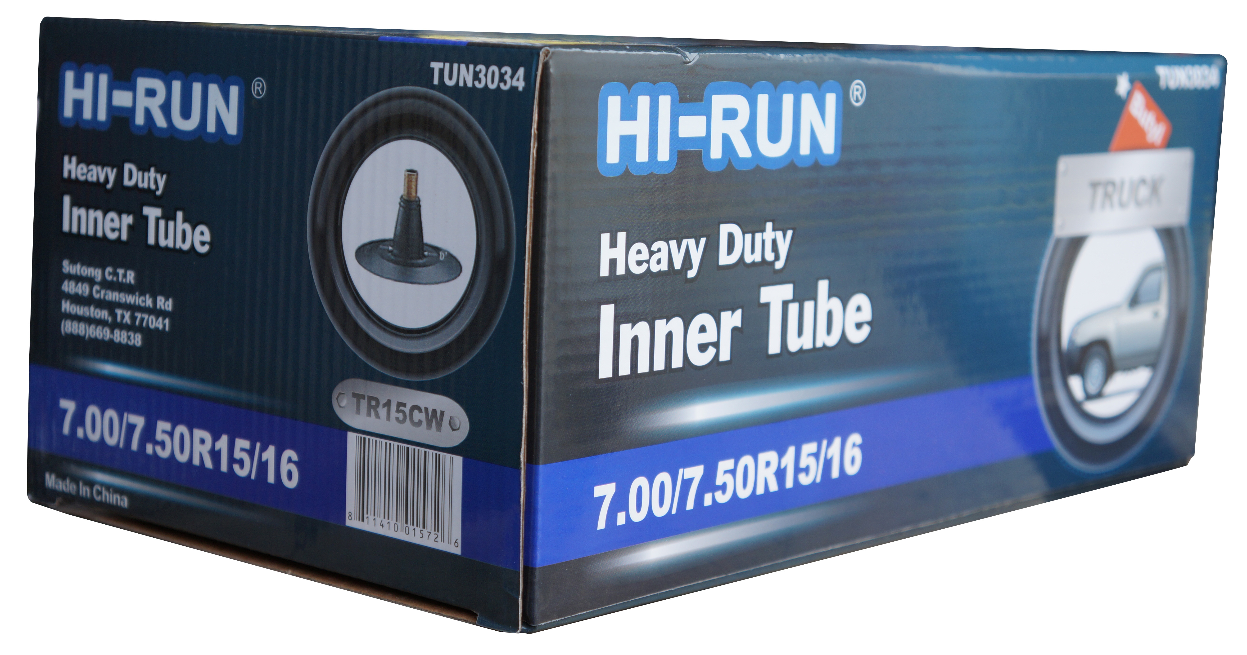 HI Run Tube 7.00 7.50R15 16LT TR15CW