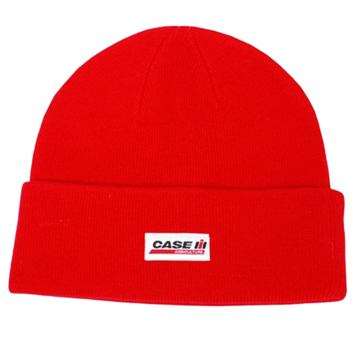 Case IH Red Knit Logo Watch Cap