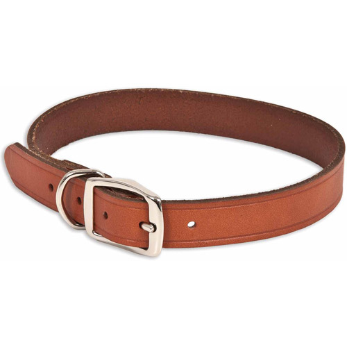 """Petmate Doskocil Co. Inc. Brown Leather Dog Collar, 1"""" x 24"""""""