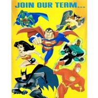 Justice League Vintage Invitations w/ Env. (8ct)