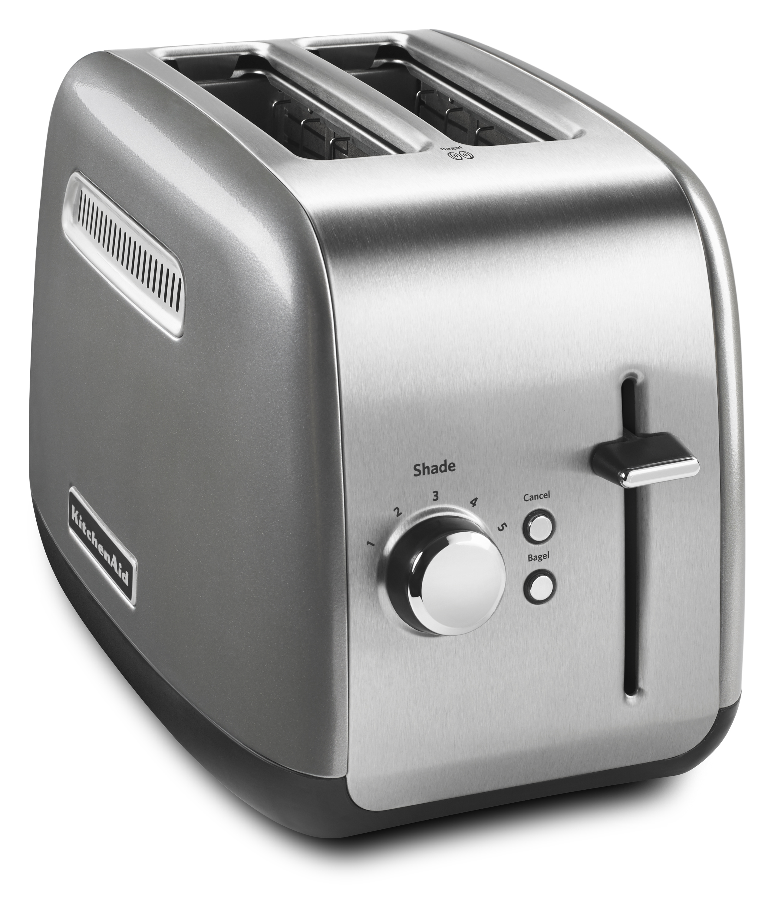 KitchenAid® 2 Slice Toaster With Manual Lift Lever, Contour Silver  (KMT2115CU)