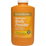 Good Sense Medicated Body Powder, 10 oz - Case of 12