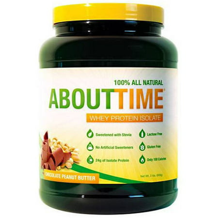 Image of About Time About Time, Chocolate Peanut Butter Suppliment, 2.0 LB