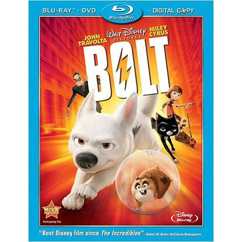 Bolt (Blu-ray + DVD) (Widescreen)