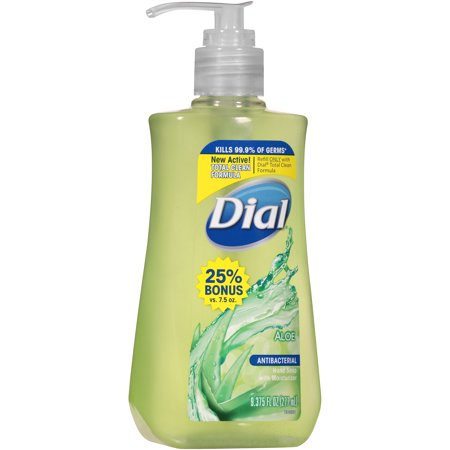 Dial Aloe Antibacterial Hand Soap With Moisturizer 9 375