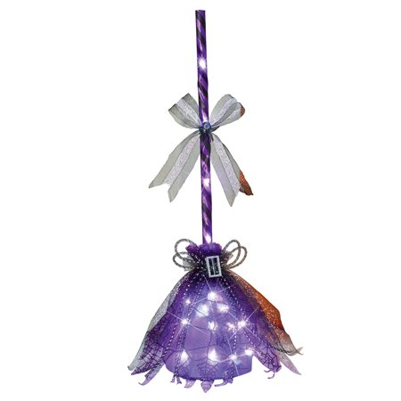 light up witchs broom indoor halloween halloween indoor decorations