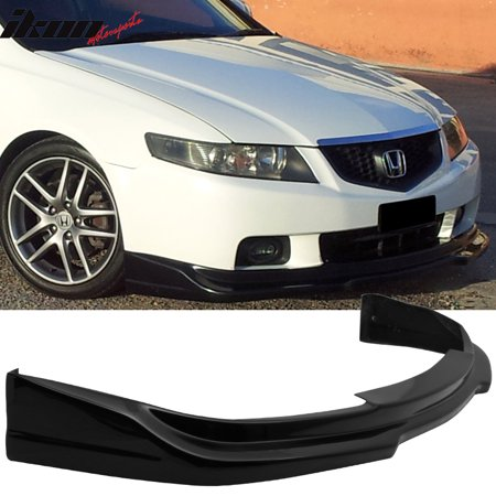 Fits Acura TSX P Style Front Bumper LipPaint BP Nighthawk - Acura tsx bumper