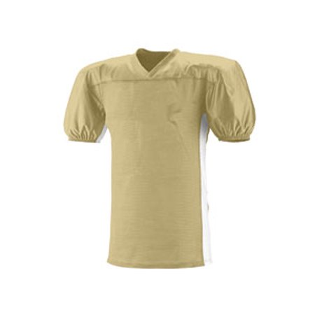 Adult Titan 4 Way Stretch Football Jersey - VEGAS GOLD  WHT - L XL N4205 -  Walmart.com 1791760d5