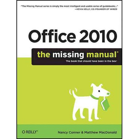 Office 2010: The Missing Manual Deal