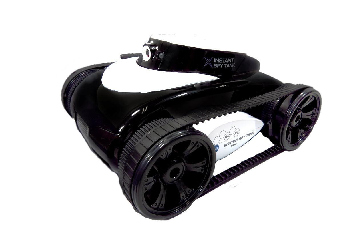 App-Controlled Wi-Fi Spy Tank With Camera (Black) by AZ Trading %26 Import