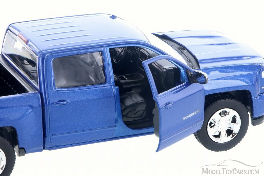 diecast model 2017 Chevy Silverado 1500 LT Z71 Crew Cab Truck 1//27 Scale
