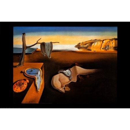 Persistence Of Memory Poster Print by Salvador Dali (37 x (Dali Memory)