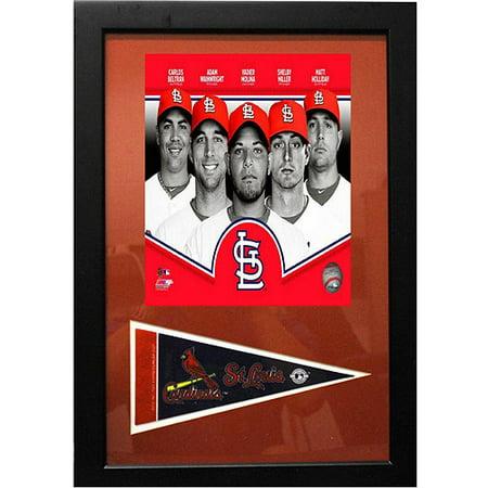 MLB St. Louis Cardinals Pennant Frame, 12x18 - Pennant Frame