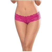 Escante EL-55115 Lattice Back Panty O/S / Ocean Blue