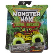 Monster Jam, Official Zombie Invasion Northern Nightmare Die-Cast Monster Truck, 1:64 Scale