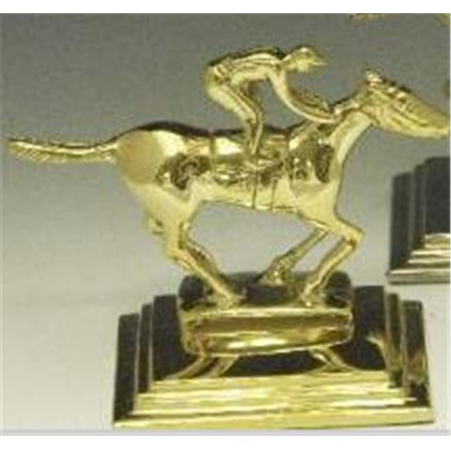 Mayer Mill Brass - HRB-1 - Horse And Rider Book Ends - Pair