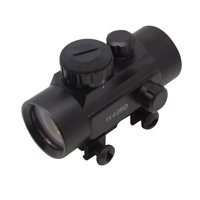 SAS 1x30mm 3-Dot Red Dot Scope Sight Weaver Rail Hunting Rifle Crossbow