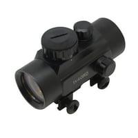 SAS 1x30mm 3-Dot Red Dot Scope Sight Weaver Rail Hunting Rifle Crossbow
