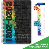 "Middle / High School Planner 2020-2021 (Block Style - 5.5""x8.5"" - Black Brick) - SC20-SB-5585-C1"