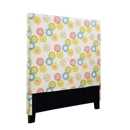 Waverly Headboard Cover, Wheels N' Motion, Multi-Color, Full/Queen
