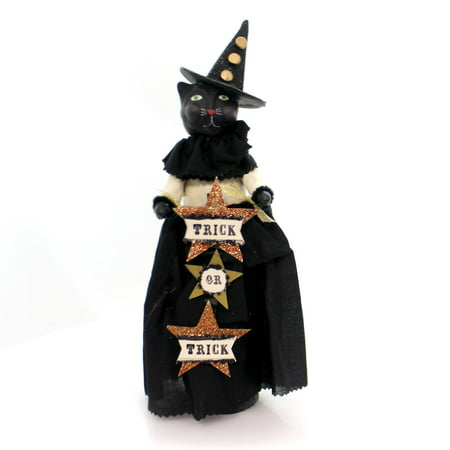 Halloween TABITHA Polyresin Trick Or Treat 55113 - Trick Or Treat On Halloween Song