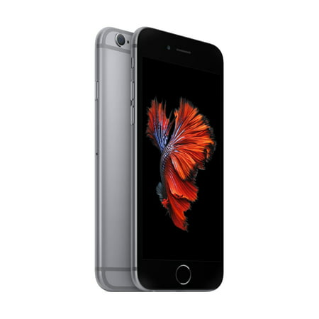 Walmart Family Mobile Apple iPhone 6s 32GB Prepaid Smartphone, Space (Best Smartphone For Tethering)