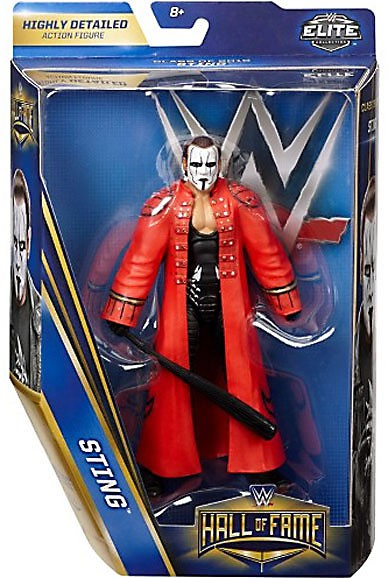 WWE Wrestling Elite Hall of Fame Class of 2016 Sting Action Figure by